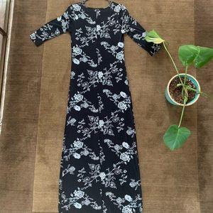 Vintage 90's White House Black Market Maxi Dress